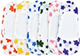 Kids Girl's size Flower 12Pairs(6styles) Liner No Show Ballet FootCover