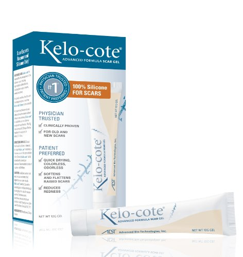 Kelo-Cote Advanced Formula Scar Gel, 0.35 Ounce