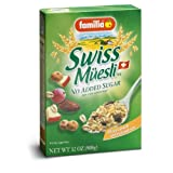 Familia Organic Swiss Muesli Baby Food no added sugar (6x250g)