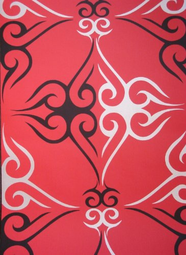 Tattoo Wallpaper Red Black Pattern 1136.4