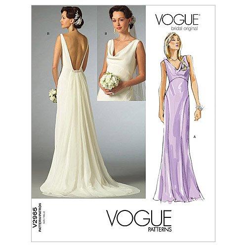 Vogue Patterns V2965 Misses' Dress, Size AX (4-6-8)