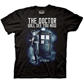 Men's Doctor Who The Dr. Will See You Now T-shirt XXXL