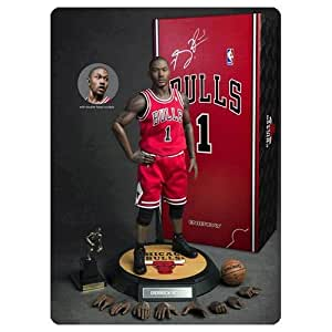 """Derrick Rose Chicago Bulls 1/6th Scale 12"""" Action Figure Nba Enterbay"""