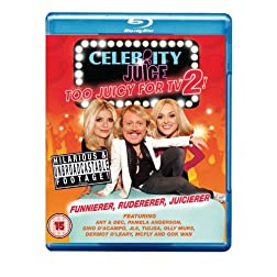 Celebrity Juice Too Juicy for TV 2 [Blu-ray]