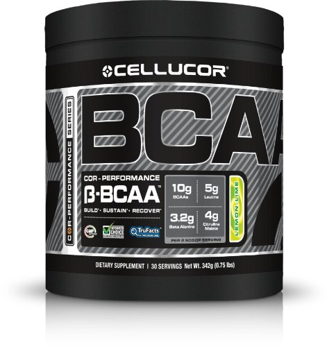 Cellucor COR-Performance BCAA | Build, Sustain, and Recover your Muscles | Best Branched Chain Amino Acid | Lemon Lime – 30 serving