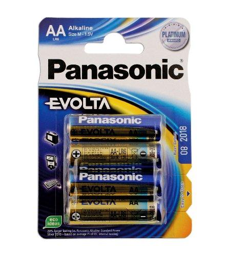 Connect 30646 Lot de 12 paquets de 4 piles Evolta AA sous blister