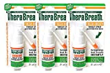 Dr. Harold Katz TheraBreath Fresh Breath Throat Spray, 1oz (Pack of 3)