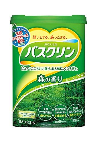 バスクリン 森の香り 600g 入浴剤 (医薬部外品)
