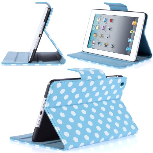 i-Blason Dalmation Series iPad Mini Case - Blue/White