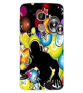 ColourCraft DJ Design Back Case Cover for LeEco Le 2