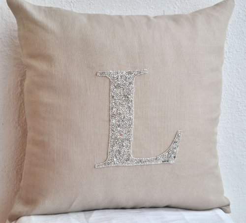 monogrammed throw pillows best monogrammed throw pillows at