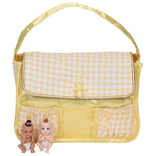 Baby In My Pocket Diaper Bag - Yellow - 1