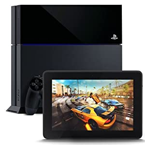 "PlayStation 4 and Kindle Fire HDX 7"", HDX Display, Wi-Fi, 16 GB - Includes Special Offers"
