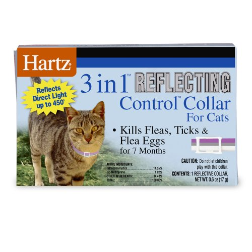 Hartz - 3 in 1 reflecting flea collar for cats