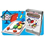 Design Tile Magnet Set Peel & Stick - 32 Pc