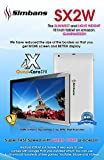 65% OFF! Simbans (TM) SX2W 10 Inch Tablet PC -  Quad Core, 1GB, 8GB, Google Android 4.4 KitKat, HD and Bluetooth -   Runs Youtube, 3D Games, Skype, Emails, Web + UK Customer Service