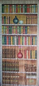 Bamboo Beaded Curtain 125 Strands 4000 Beads Hanging Hardware Bookcase Home