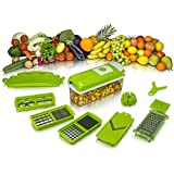 Scitek Multi-Functional Nicer Dicer Plus - Chops, Graters And Slicers ,Fruit Vegetable Chopper Cutter(SCI04)