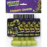 TMNT Party Blowouts [8 Per Pack]