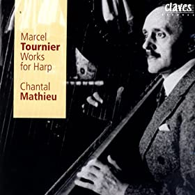Tournier: Works for solo Harp