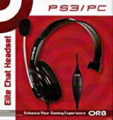 ORB Elite Chat Headset for PS3 & PC