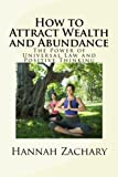 img - for How to Attract Wealth and Abundance: The Power of Universal Law and Positive Thinking book / textbook / text book