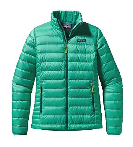 Patagonia-Women-Down-Sweater-Jacket-Aqua-Stone-84683AQST
