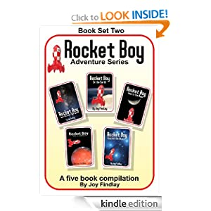 Rocket Boy Adventure Series Book Set Two