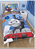 Thomas the Tank Engine 'Sodor Express' Reversible Duvet Set - Single