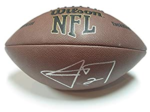 Johnny Manziel Cleveland Browns Signed Football Authentic Certified Coa