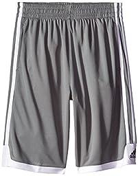 adidas Big Boys\' Key Item Short, Grey Small