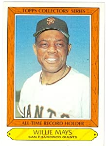 Willie Mays baseball card 1985 Topps Collectors Series #26 (San Francisco Giants)