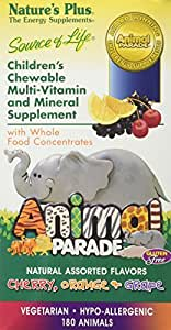 Nature's Plus - Childrens - Animal Parade Assorted 180