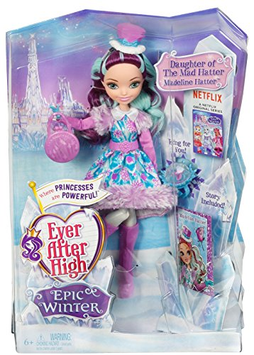 Ever After High Epic DPG87 Winter Maddie Hatter JungleDealsBlog.com