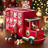 Advent Calendar, Wooden with Drawers,