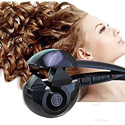 Arricciacapelli - Salon Perfessionale - Smart Arriccciatore Automatico Ionico Piastra Arricia Capelli Ultra Veloce Corpo Ceramico , Effetto Riccio Onde Ondulato Bigodini