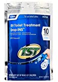 Camco 41529 TST Blue Enzyme Toilet Chemical Drop-In - 10 pack