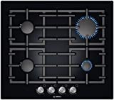 Bosch PPP616B91E Avantixx Glass Base 59cm Gas Hob in Black