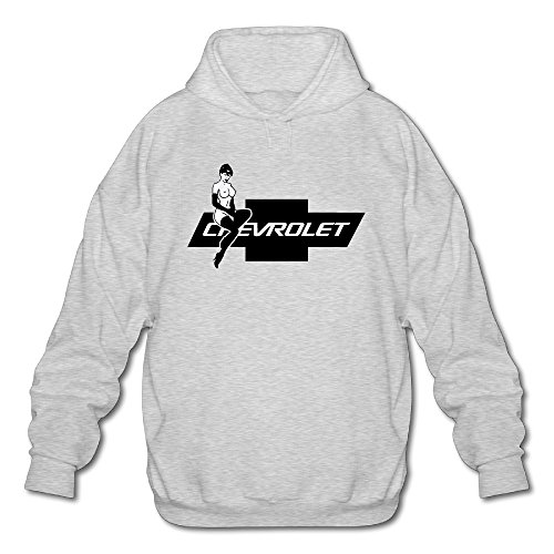 Rebecca Geek Chevrolet Hot Lady Chevy Men's Long Sleeve Hoodie M Ash (Bose Silverado Speakers compare prices)