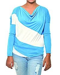 Women's Top (Blue, Free size)