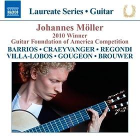 Johannes M�ller - 2010 Winner, Guitar Foundation of America Competition