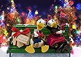 Disney Donald Duck & Daisy Christmas 3D Lenticular Greeting Card / Christmas 3D Postcard