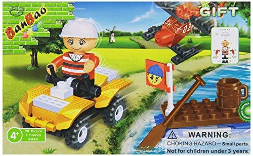 BanBao ATV Set Building Set Building Set, 81-Piece - 1