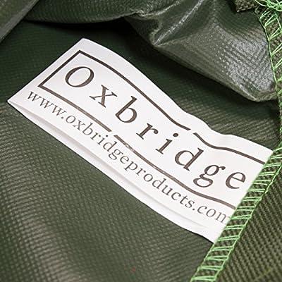 Oxbridge - Abdeckplane für Gartenliege/Sonnenliege - Wasserdicht - Grün - 5 Jahre Garantie von Oxbridge bei Gartenmöbel von Du und Dein Garten