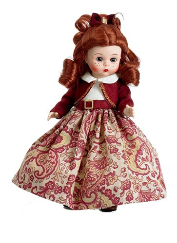 "Madame Alexander Jo, 8"", Little Women Collection Doll front-1014252"