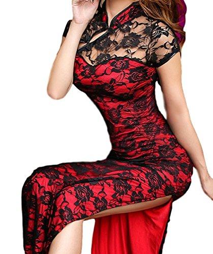 (ワールドカントリー) World Country チャイナドレス コスチューム スリット スリット入り ロング チャイナ ドレス チャイナ