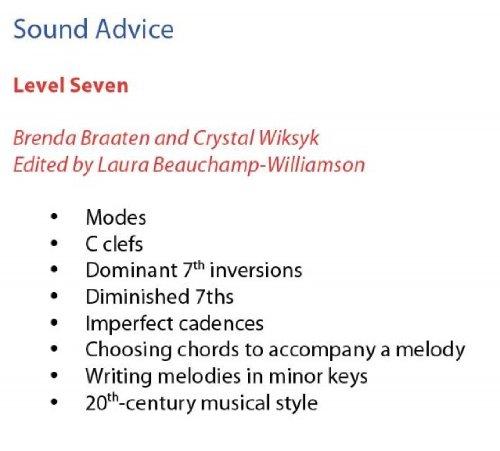 Sound Advice Theory & Ear Training 7
