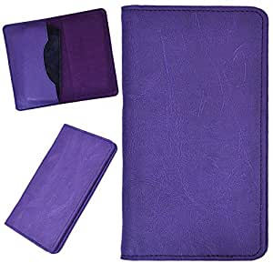 DCR Pu Leather case cover for LG E975 Optimus (purple)