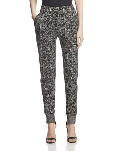Halston Heritage Women's Tweed Knit Sweatpants