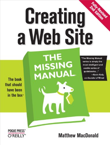 Creating A Web Site: The Missing Manual: The Missing Manual front-510585